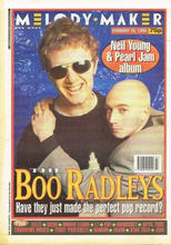 Melody Maker, 18 February 1995 Cover