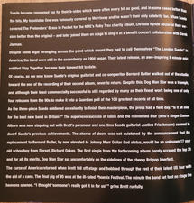 A New Morning Tour Programme 2002 pg2