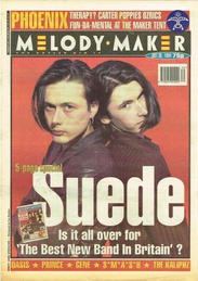 Melody Maker, 30 July 1994 Cover