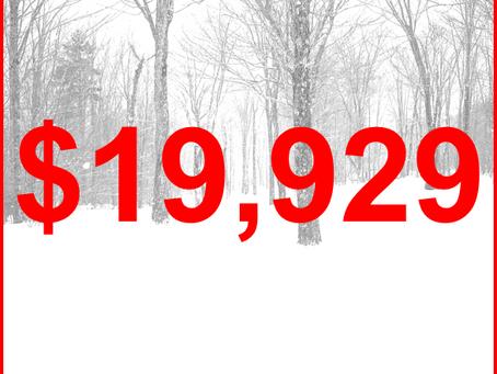 $19,929