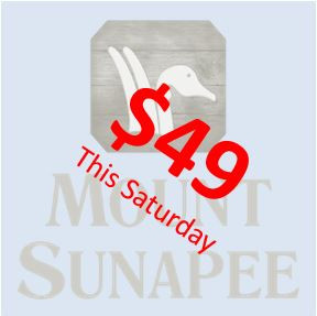 Sunapee this weekend for only $49