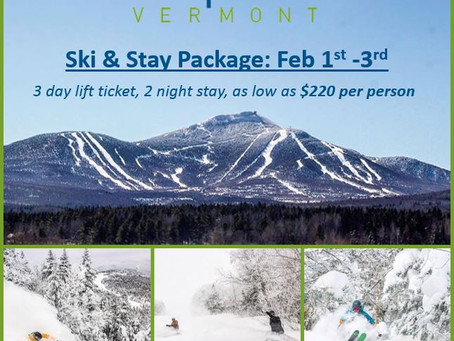 Jay Peak Weekend: Ski and stay for as low as $220 per person