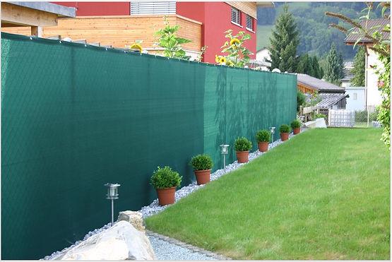 Vogelschutznetze, Weinbernetze, Sichtschutznetze, Fassadennetze