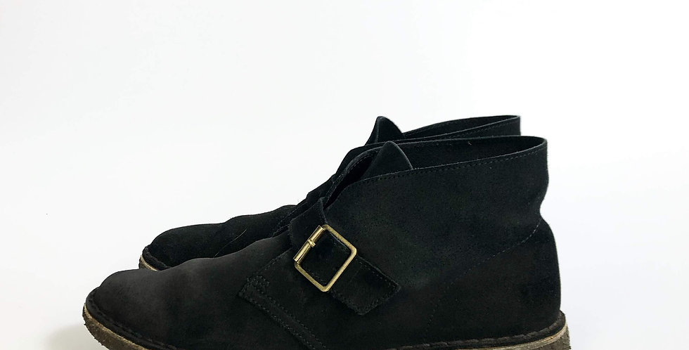 clarks monk strap desert boots