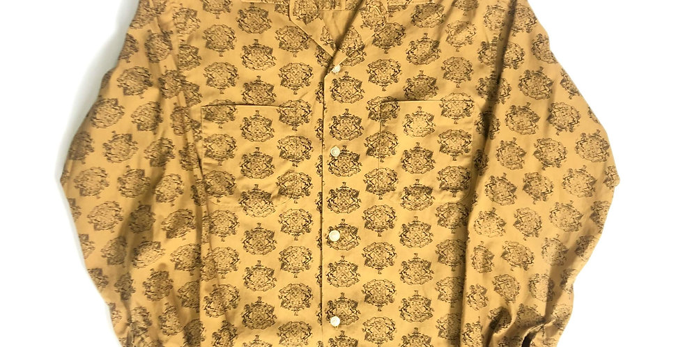 1960s old cotton shirt