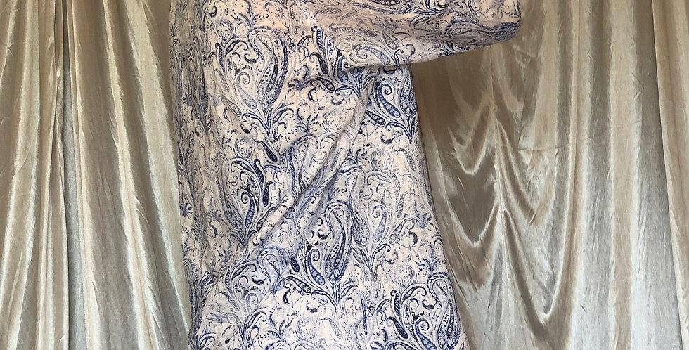 paisley linen shirt