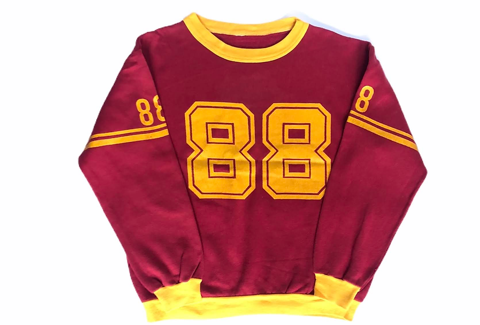 1980s numbering sweat