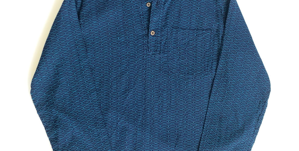 1980s india cotton pullover shirt