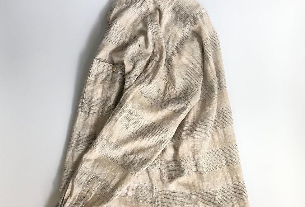 pierre cardin border pattern shirt