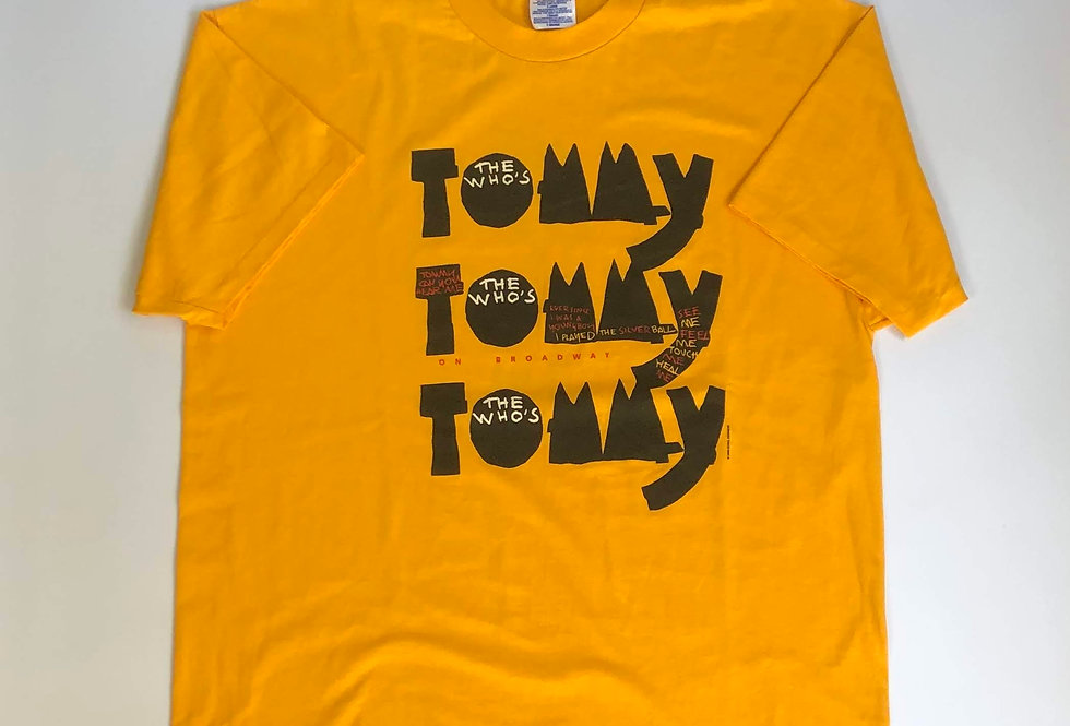 """1992s """" the who's tommy """" tee"""