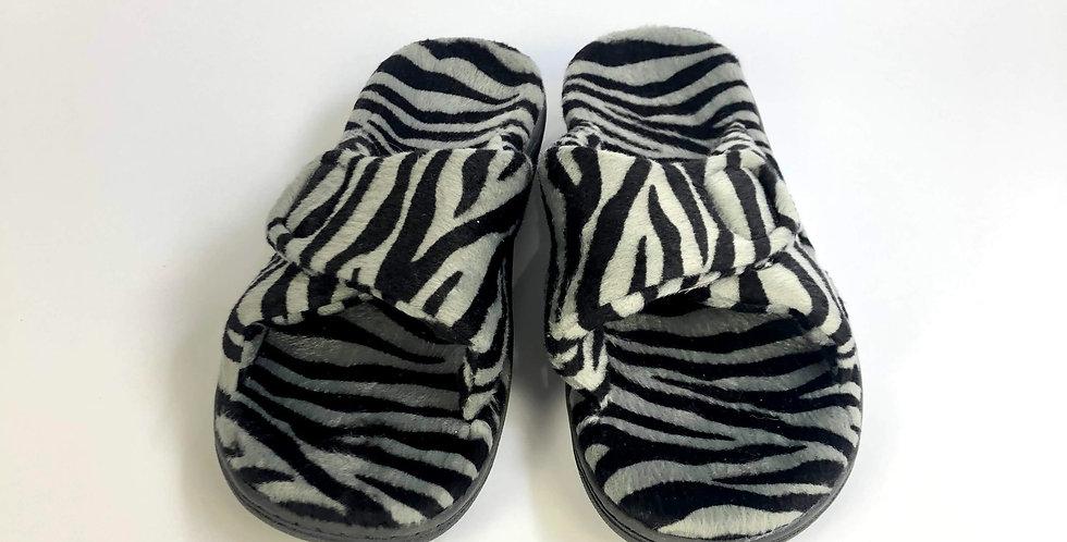 vionic zebra pattern sandal