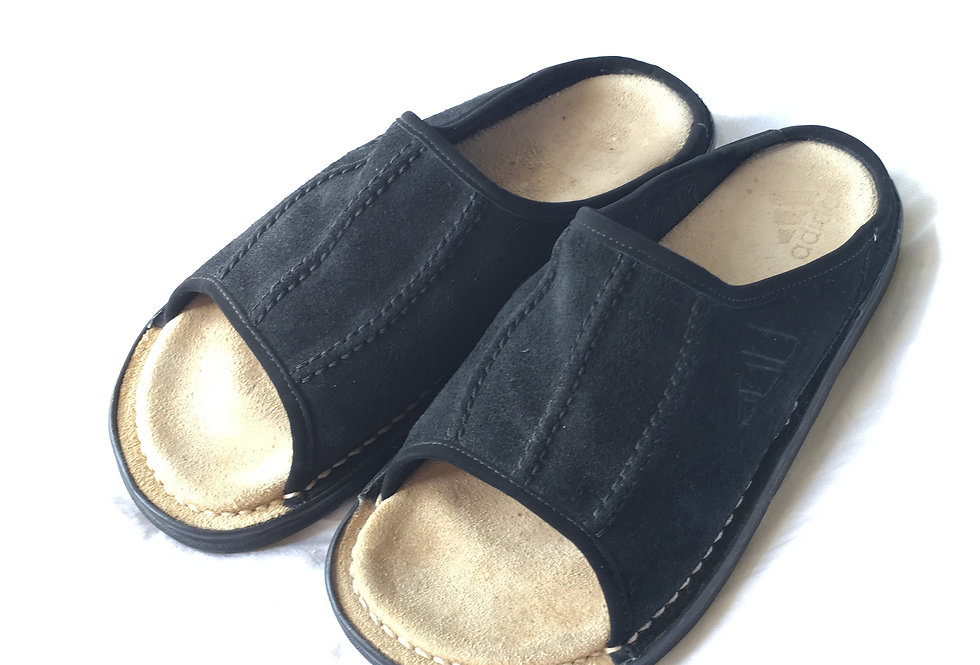 〜2000s adidas slide leather shoes