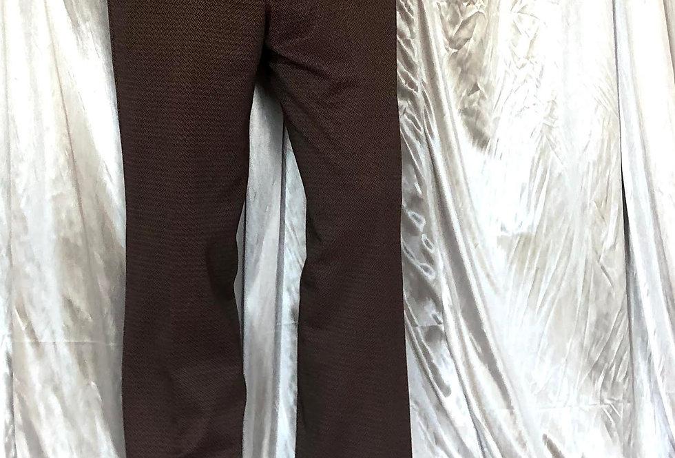 1960s jacquard pants