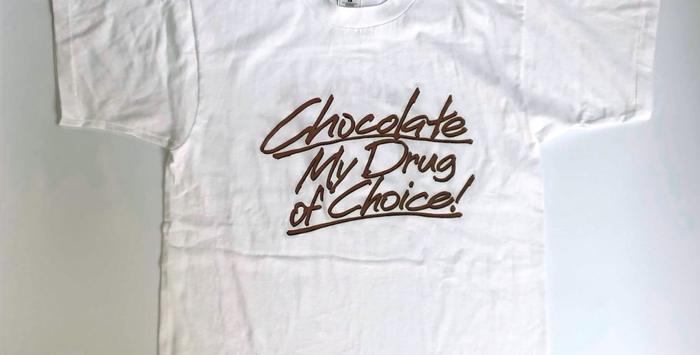 "1990s "" chocolate heaven "" souvenir tee"