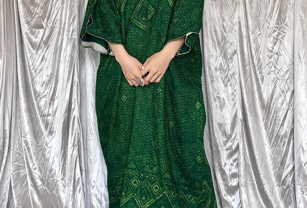 green tunic one-peace