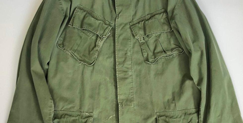 1969s us army jungle fatigue jacket
