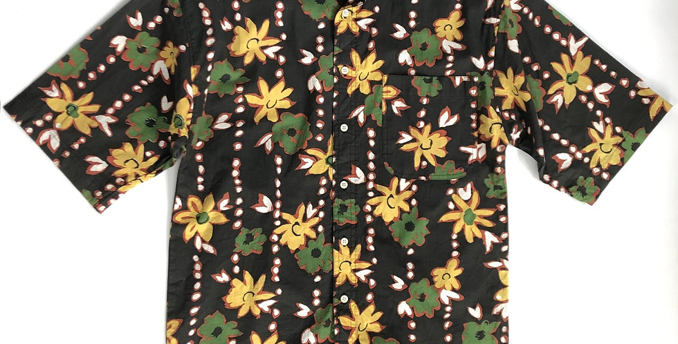 "1990s flower pattern shirt "" weekends only """