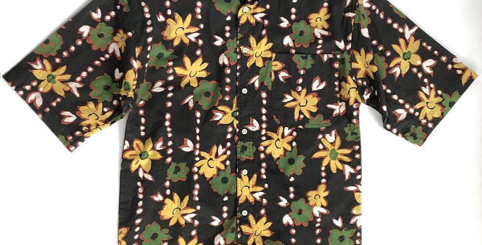 "1990s flower pattern shirt "" weekends only """