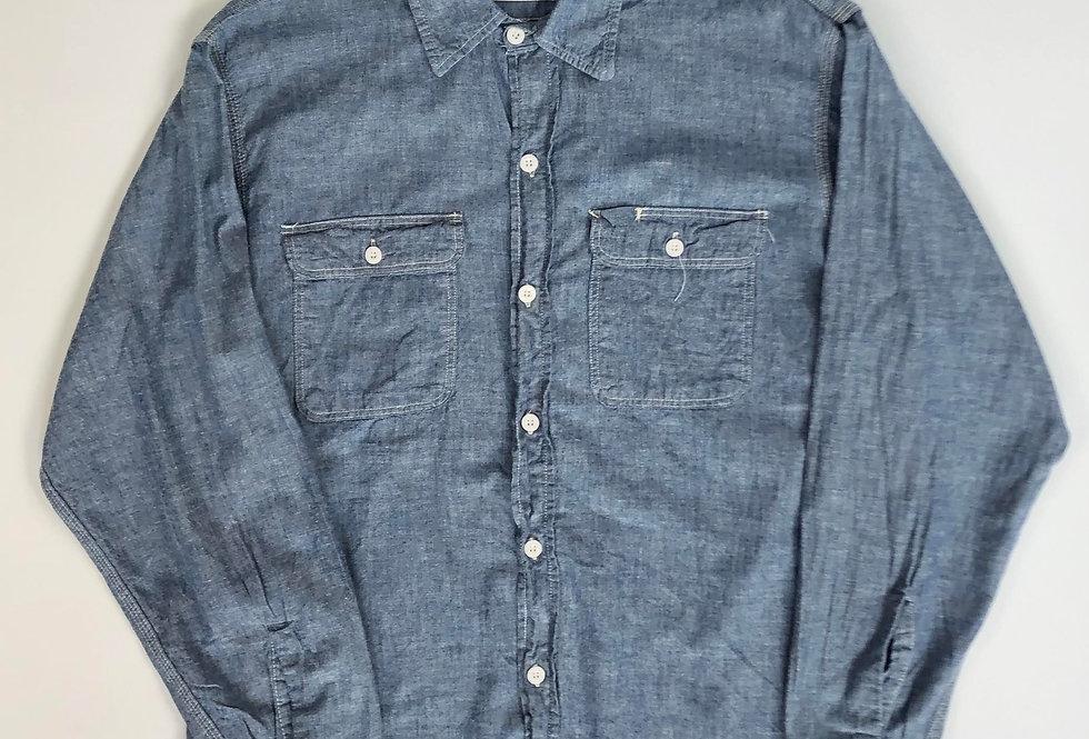 1990s BIGMAC cotton chambray shirt