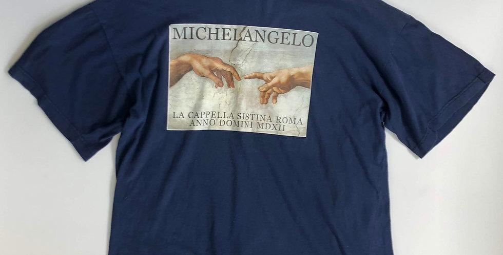 """1990s """" MICHELANGELO """" tee"""