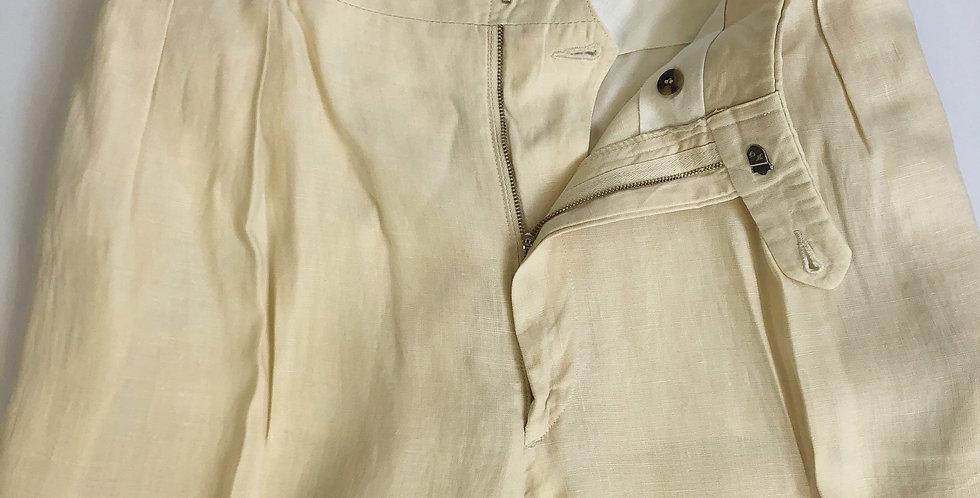 1970s old linen slacks