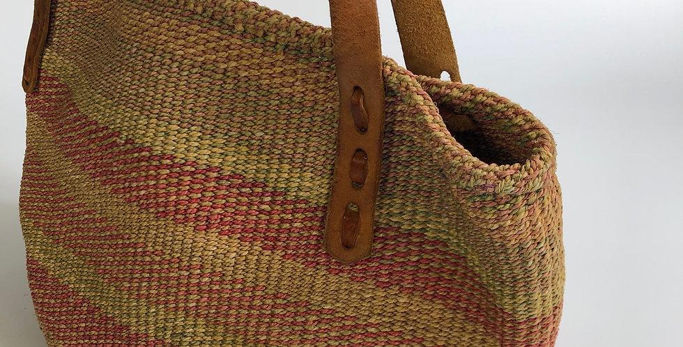 old jute bag
