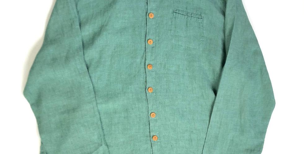 """FLAX linen shirt """" peppermint """""""