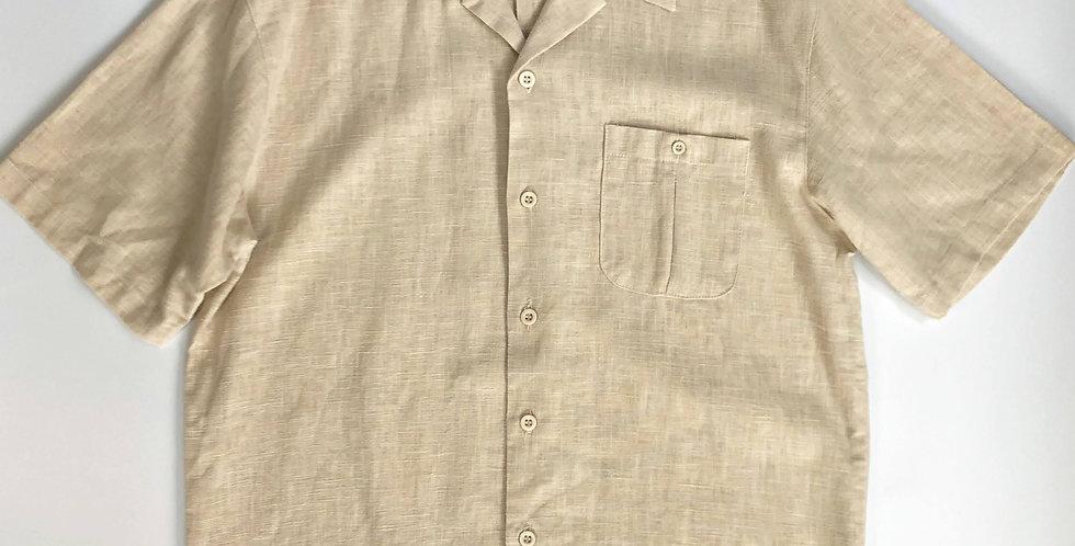 thick linen shirt