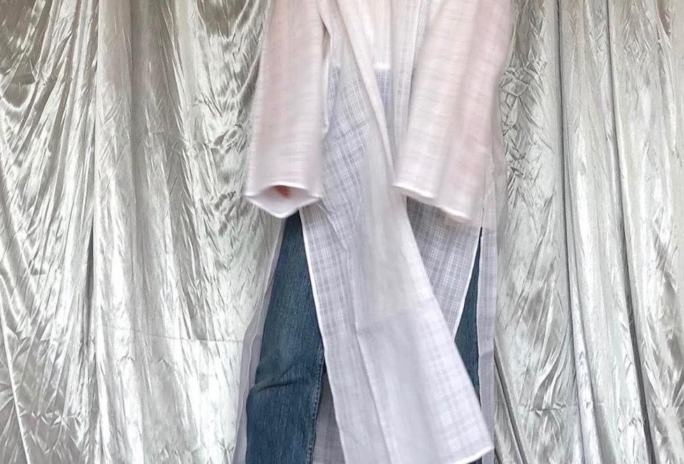 nos side slit ethcinity dress