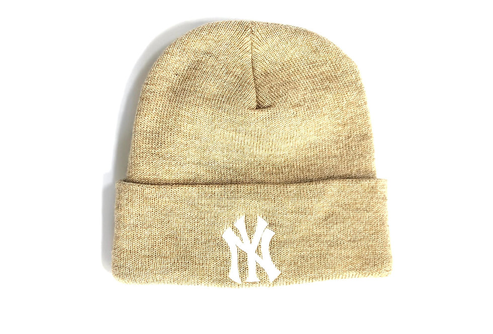 "1990s rossmor industries knit cap "" NY """