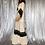 Thumbnail: vintage flare sleeve dress