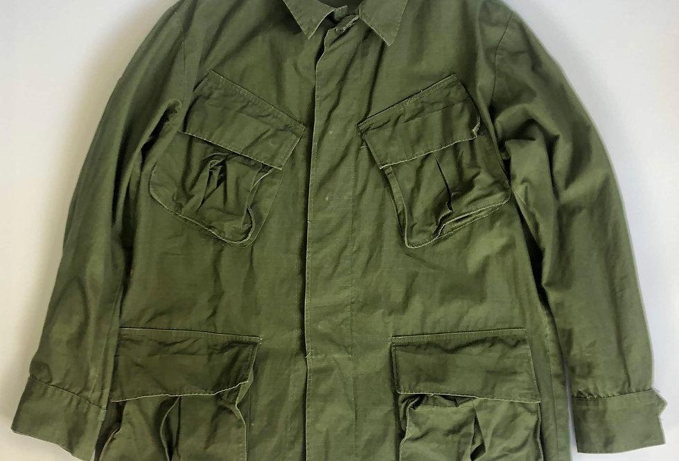1968s us army jungle fatigue jacket