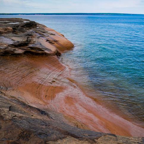 Pictured Rocks National Lakeshore Michigan June 2018