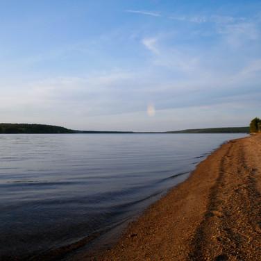 Inlet of Lake Superior Michigan June 2018