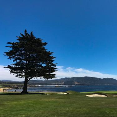 18th Hole Pebble Beach Golf Course California July 2018