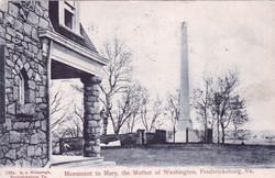 Mary Ball Monument Circa 1864