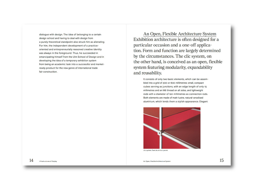 Clic System Burkhardt Leitner pages 14 and 15