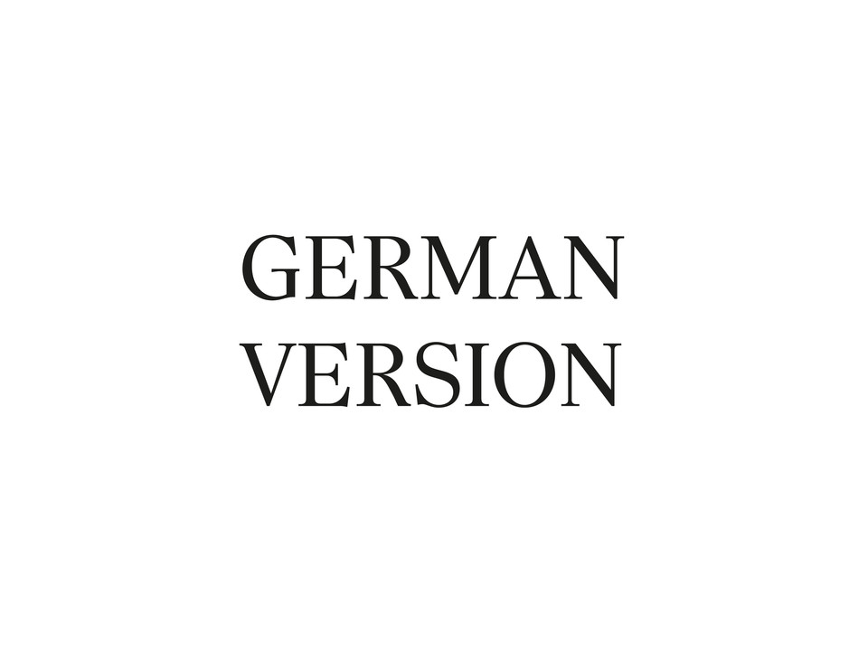 Deutsche Version form Designklassiker