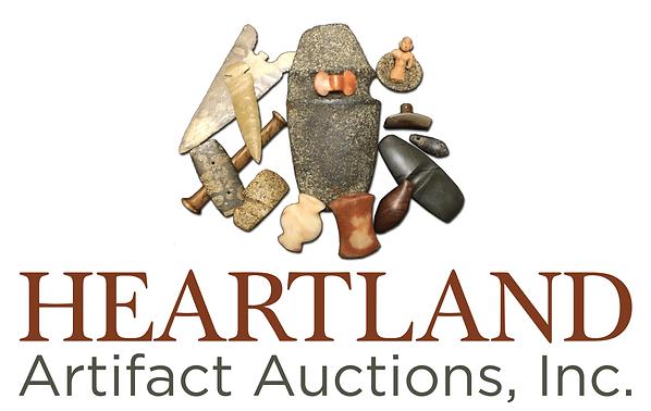 hearland atifact auctions logo