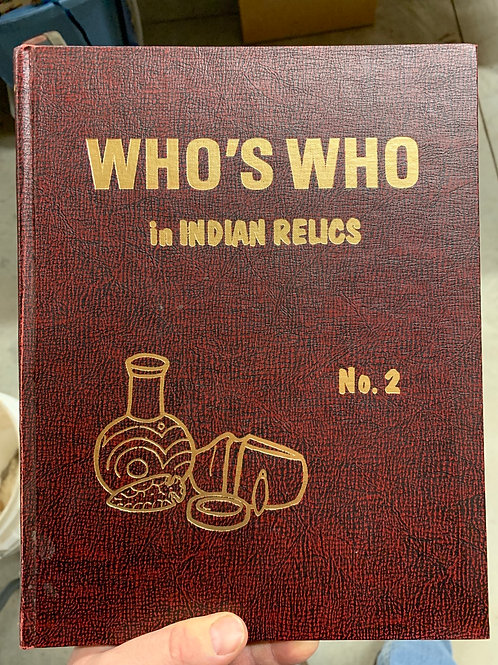 Who's Who In Indian Relics #2 3rd print 1989