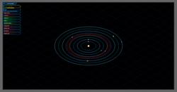 L'ecran des planetes