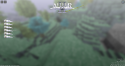 le menu de l'Aether 2