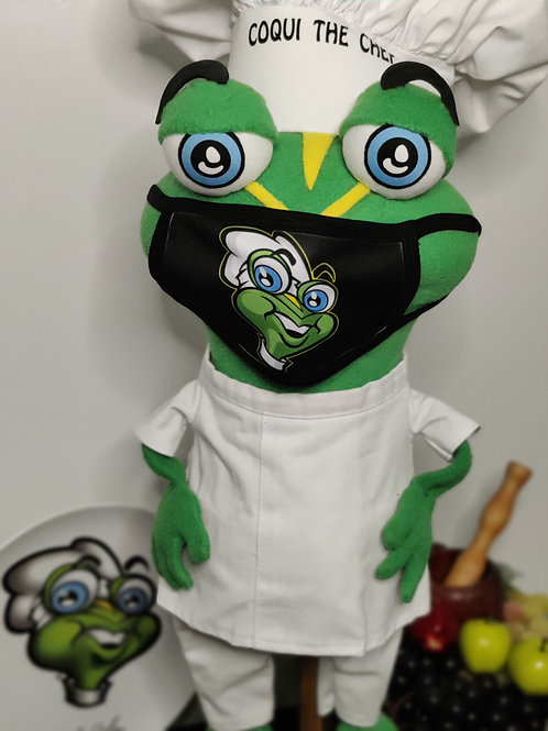 Coqui the Chef - Face Mask