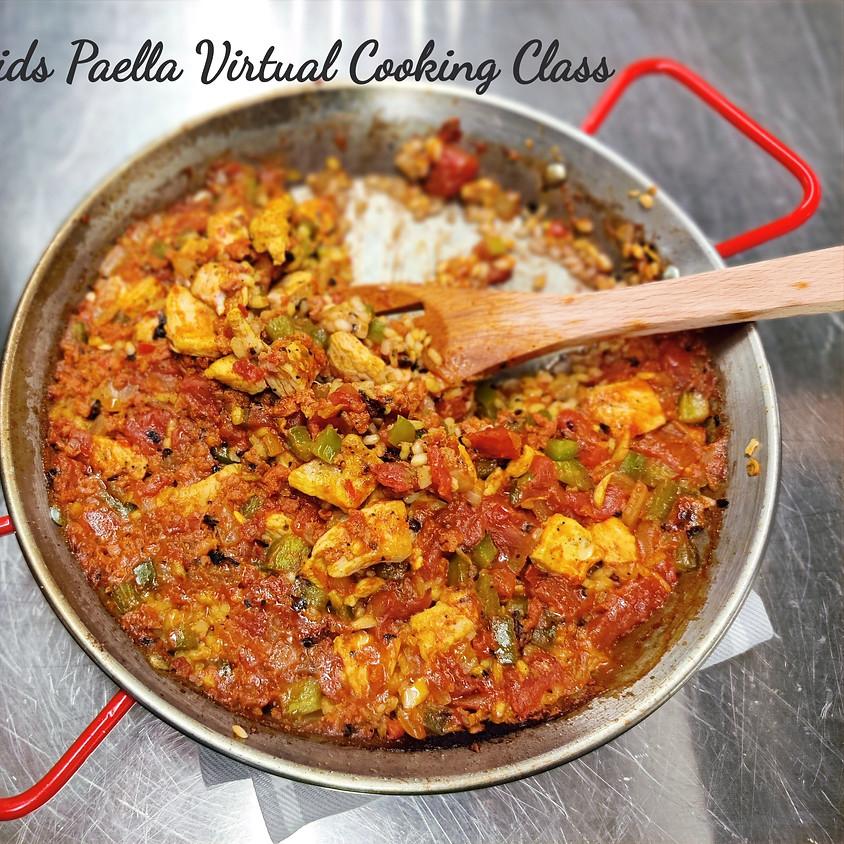 Kids Paella Virtual Cooking Class | Oct 10