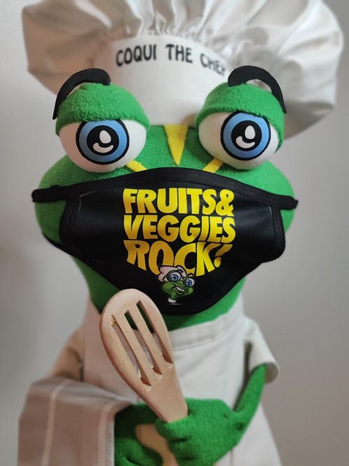 Fruit and Veggie Rock - Face Mask