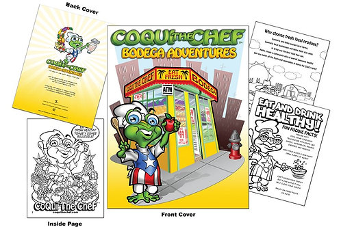 Collectible Coloring Cookbook w/Crayons