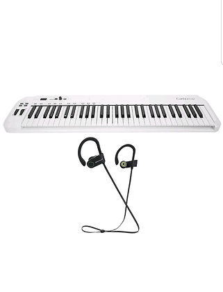 61 Key USB MIDI Keyboard Controller+Komplete Elements Software wit