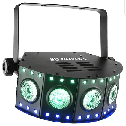 DJ FXarray Q5 Lighting Quad Color RGB+UV LED Wash Effect