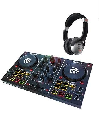 Party Mix Partymix Serato LE DJ Controller w Built In Lightshow+Headphone