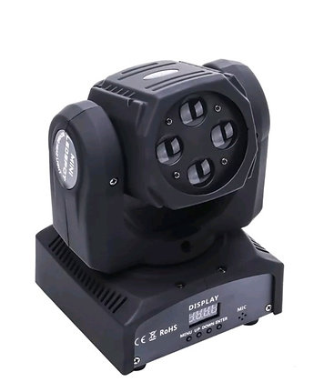 4Pcs/Lot 100W Spot Moving Head LED Light 7 Gobo With 3 Face Prism